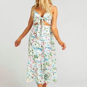 Show Me Your Mumu Moby Tiki Time Maxi Dress S
